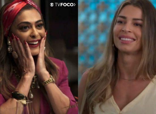 Maria da Paz e Paloma amigas? Globo faz crossover com novelas A Dona do Pedaço e Bom Sucesso