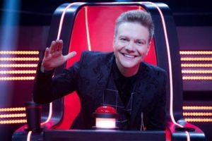 O cantor Michel Teló conquistou o penta no The Voice Brasil (Foto: Divulgação