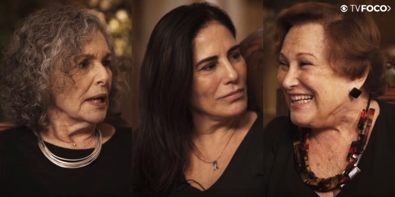 Gloria Pires, Nicette Bruno e Irene Ravache são as Lolas de Éramos Seis