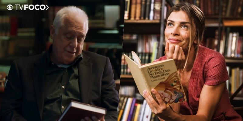 Alberto e Paloma de Bom Sucesso incentivam a leitura desde seu primeiro encontro