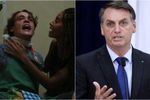 Novela Malhação, da Globo, discutiu volta da ditadura, uma suposta indireta a Bolsonaro. (Foto: Montagem/Reprodução)