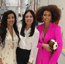 Amor de Mãe, novela das 9 da Globo, terá Regina Casé, Adriana Esteves e Taís Araújo como protagonistas (Foto: Reprodução)