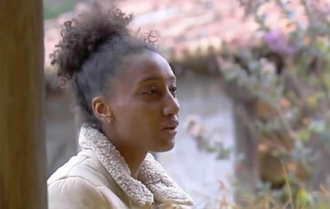 Sabrina Paiva diz ter sido chamada de macaca pela produção do reality A Fazenda (Foto: Reprodução/Play Plus)