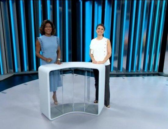 Sandra Annenberg em estreia no Globo Repórter (Foto: Reprodução)