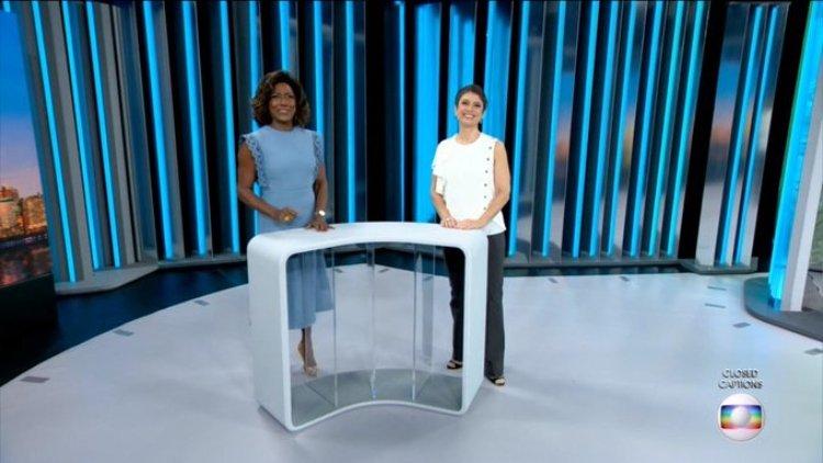 Sandra Annenberg se tornou apresentadora do Globo Repórter junto com Gloria Maria (Foto: Reprodução)