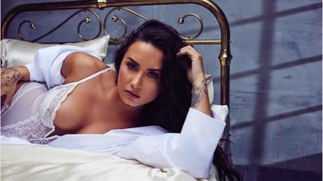 Demi Lovato tem fotos pelada vazadas na web e imagens viralizam (Foto: Reprodução)