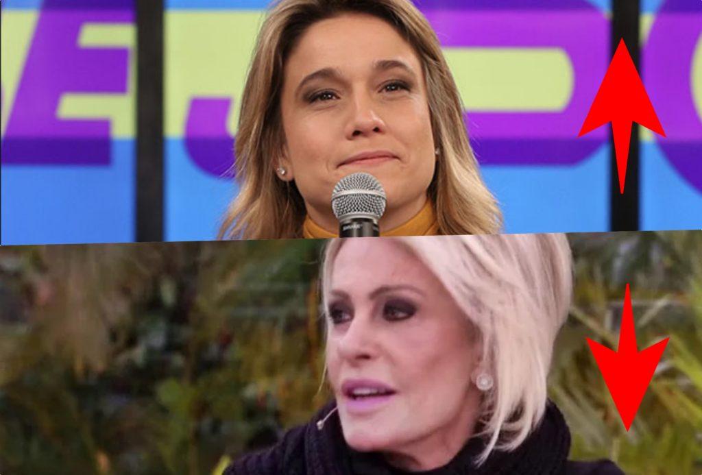 Subiu, desceu de hoje fala sobre o programa Se Joga na Globo e o Mais Você sem Ana Maria (Foto montagem: TV Foco
