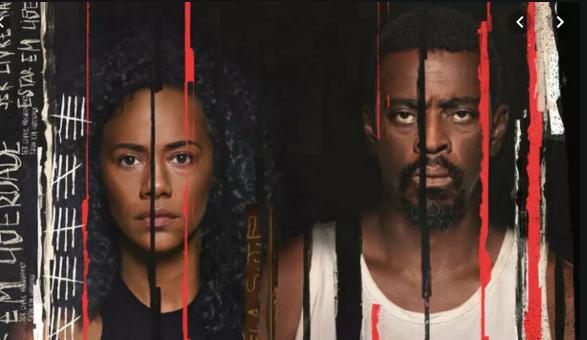 Naruna Costa e Seu Jorge, serão os protagonistas da nova série da Netflix (Foto: Reprodução)