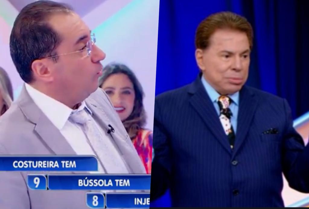 Silvio Santos confrontou Kajuru sobre ter transado com Hebe Camargo (Foto montagem: TV Foco)