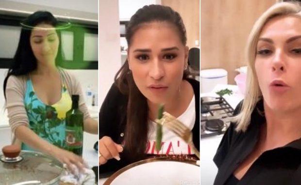 Simone, Simaria e Ana Hickmann protagonizaram Stories inusitados no fim de semana (Imagem: Instagram)