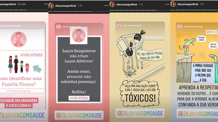 Zilu postou nas redes sociais sobre família tóxica e surpreendeu a todos (Foto reprodução)
