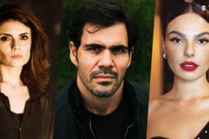 Juliano Cazarré será dividido Arieta Corrêa e Isis Valverde na trama de Amor de Mãe