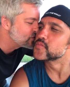 Victor e Leo selaram a paz nas redes sociais e trocaram declarações de amor (Foto: Reprodução/ Instagram)