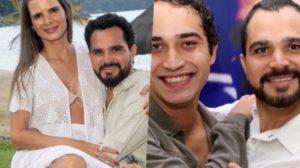 Flavia Camargo e Wesley Camargo vivem guerra e Luciano Camargo fica afastado do filho (Foto montagem)