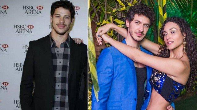 Débora Nascimento e o novo namorado, que foi comparado a José Loreto (Foto: Arquivo e Reprodução/Facebook)