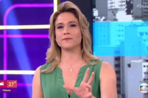 Fernanda Gentil tem passado por uma crise com a audiência do Se Joga (Foto: Reprodução/Globo)