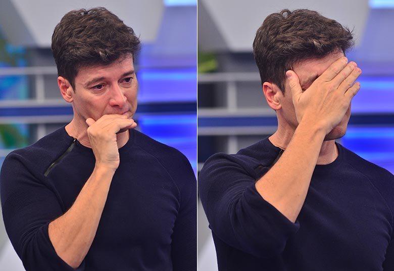 """Rodrigo Faro descobre grave doença contagiosa nos pulmões, gravações do programa são canceladas e apresentador desabafa: """"está difícil"""""""