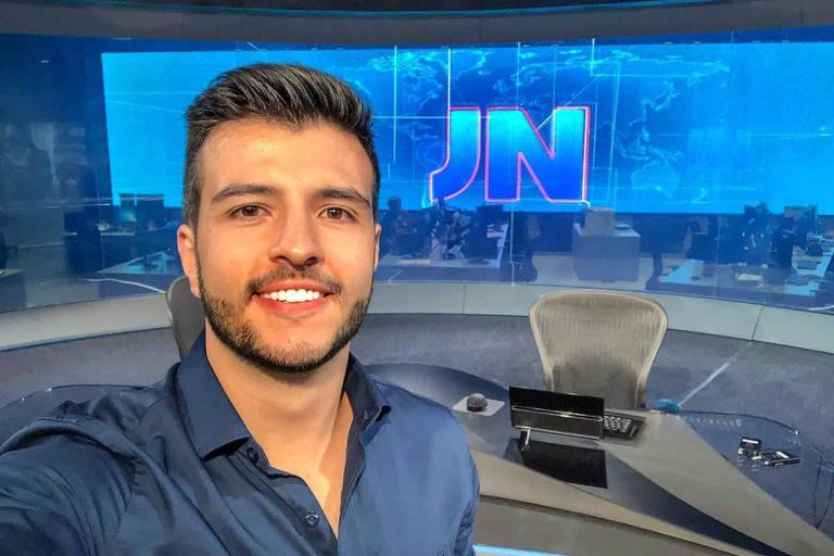 Matheus Ribeiro, âncora do Jornal Nacional (Foto: Divulgação)