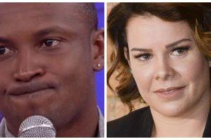 Fernanda Souza e Thiaguinho estão disputando espaço na TV (Foto: Reprodução/ Montagem TV Foco)