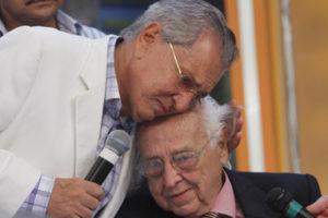 Carlos Alberto e Manoel de Nóbrega. Foto: Reprodução