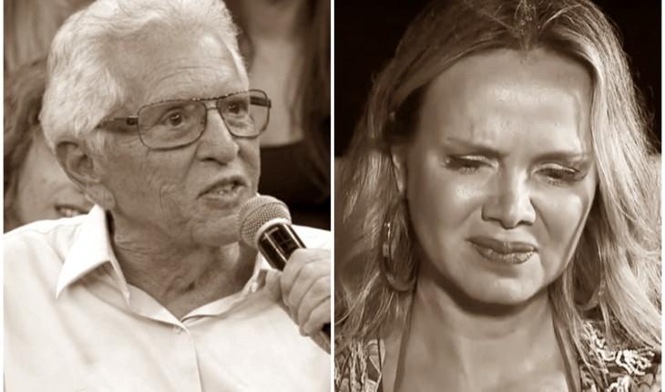 Carlos Alberto de Nóbrega e Eliana (Foto: Reprodução)