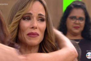 A apresentadora Ana Furtado durante programa na Globo (Foto: Reprodução)