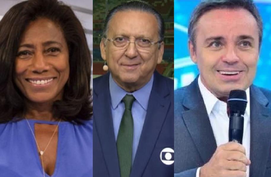 Glória Maria, Galvão Bueno e Gugu Liberato ficam em estado de saúde extremamente preocupante (Foto: Reprodução/ Instagram)