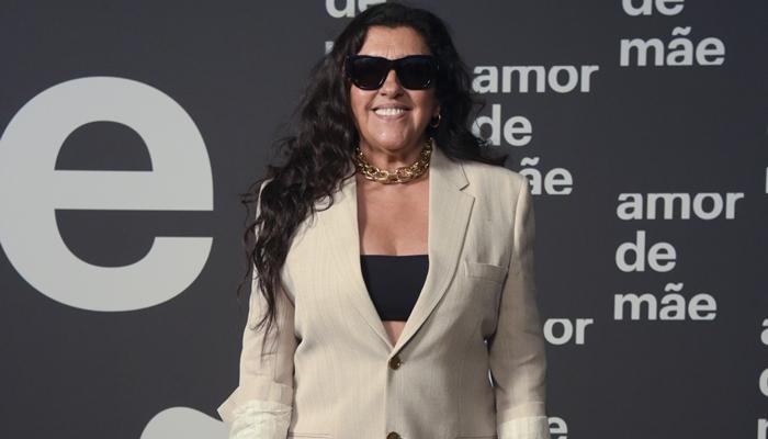 Regina Casé no lançamento de Amor de Mãe, nova novela das nove da Globo; atriz volta a atuar após 18 anos (Foto: Globo/Estevam Avellar)
