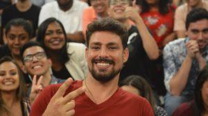 Cauã Reymond em participação no Altas Horas (Foto: Reprodução)