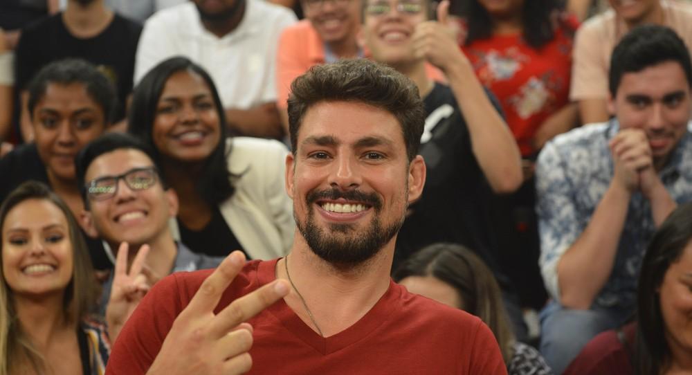 Cauã Reymond em participação no Altas Horas (Foto: Reprodução) ator