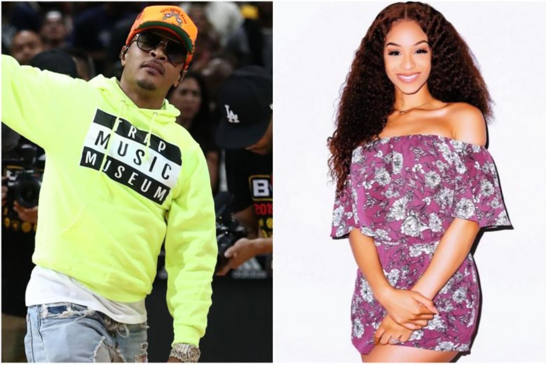 T.I,. rapper americano, é criticado por fazer teste de virgindade em filha, Dyjah Imani Harris (Foto: Reprodução)