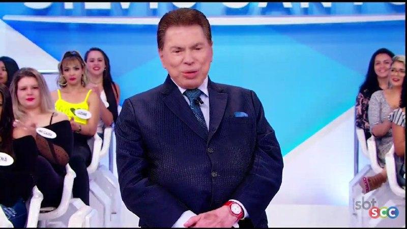 Silvio Santos apareceu mais 'gordinho' e deixou o público assustado (Reprodução/SBT)