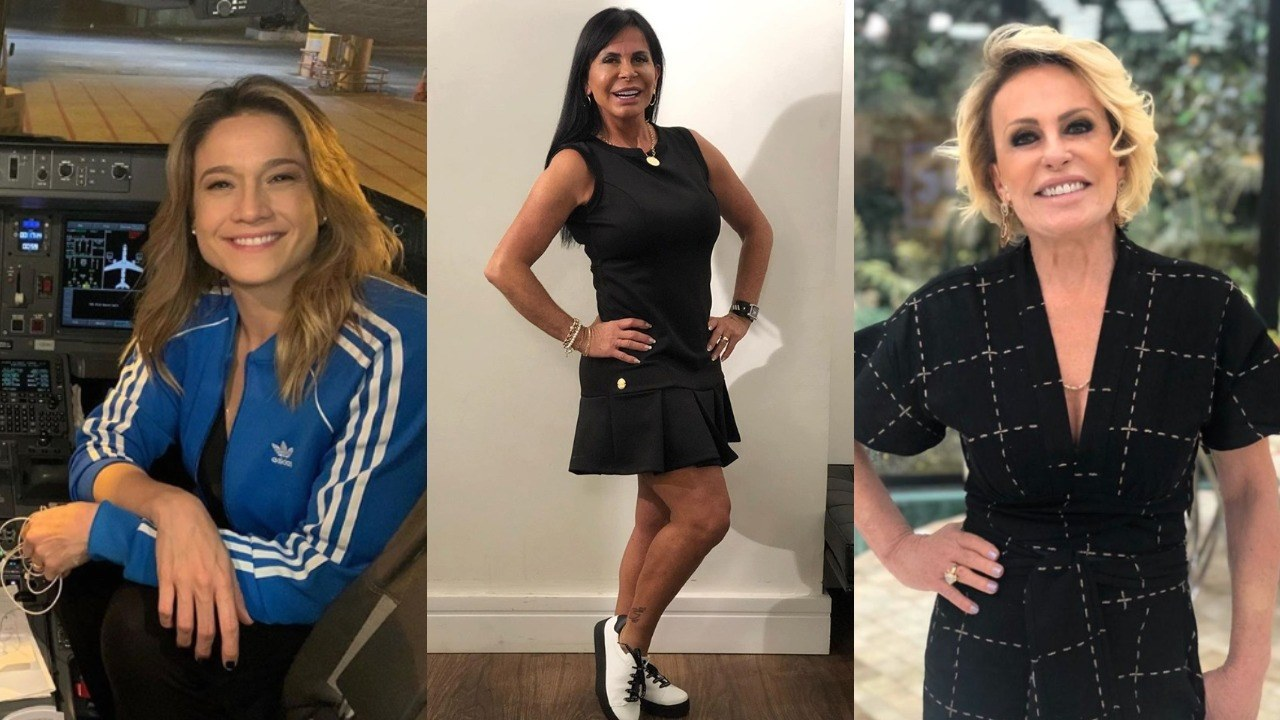 Fernanda Gentil, Ana Maria Braga, Gretchen