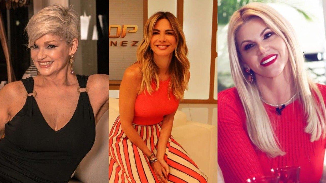 Andréa Nóbrega, Luciana Gimenez, Andréa Nóbrega