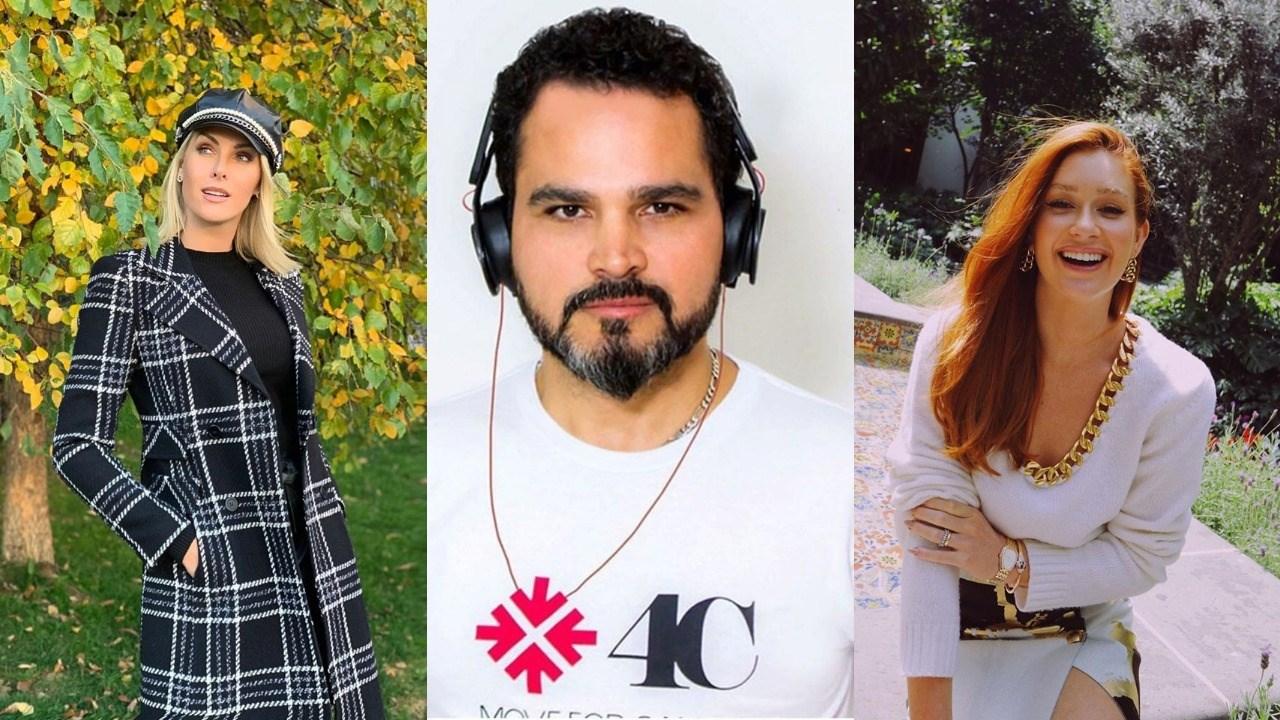 Ana Hickmann, Luciano Camargo e Marina Ruy Barbosa