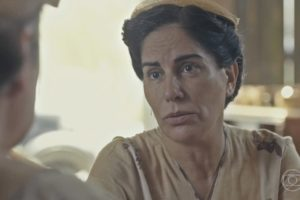 globo silvio de abreu Gloria Pires (Lola) em cena de Éramos Seis, que tem audiência em queda (Foto: Reprodução/Globo)
