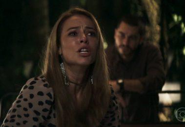 Paolla Oliveira (Vivi) em cena do penúltimo capítulo de A Dona do Pedaço, que teve audiência recorde (Foto: Reprodução/Globo)