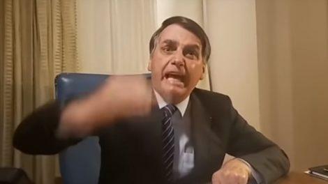 Jair Bolsonaro foi o responsável pela suspensão de um jornalista da Band (foto: reprodução)