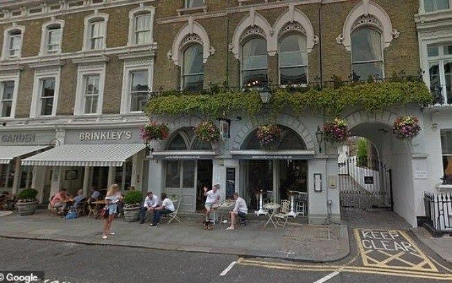 Local que Kate Middleton foi vista (Foto: Reprodução)