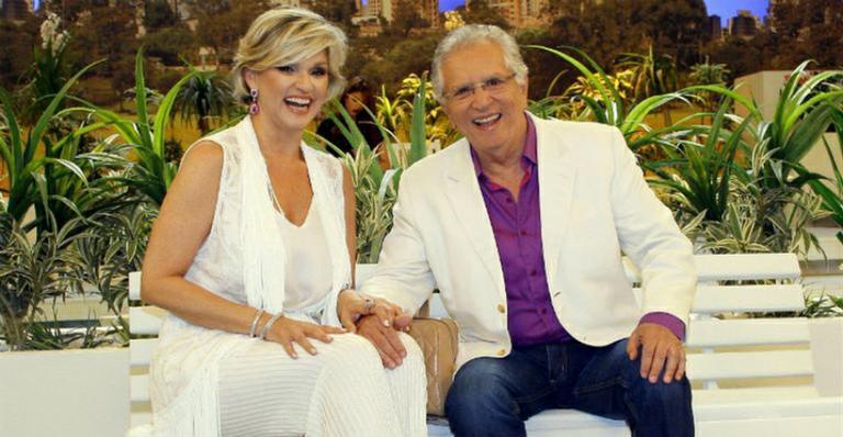 Carlos Alberto de Nóbrega e Andréa de Nóbrega já foram casados (Foto: Divulgação/SBT)