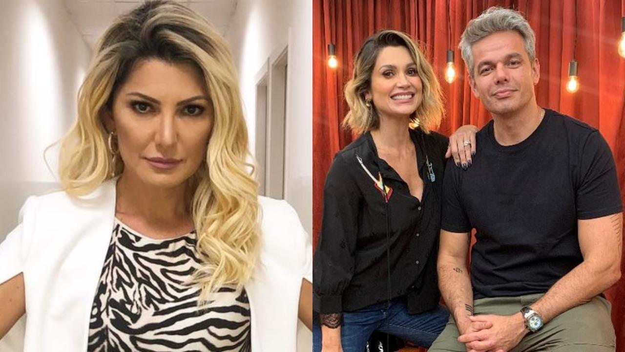Antonia Fontenelle detonou Otaviano Costa e Flávia Alessandra (Foto: Reprodução/Instagram/Montagem TV Foco)