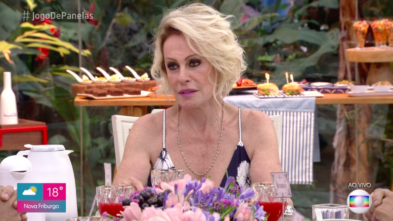 Ana Maria Braga está namorando (Foto: Reprodução/ Globoplay)
