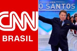 CNN Brasil, SBT, Silvio Santos