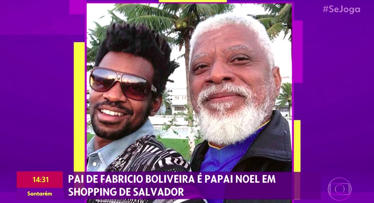 Globo, Fabrício Boliveira, Natal, Papai Noel, Se Joga