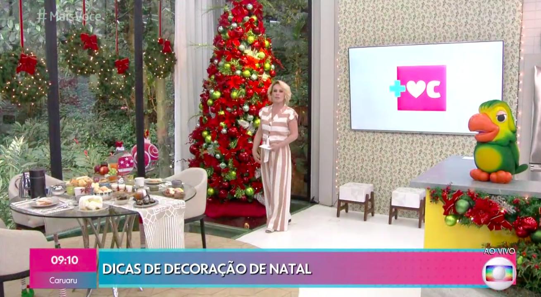 Ana Maria Braga, Natal, Globo, Mais Você
