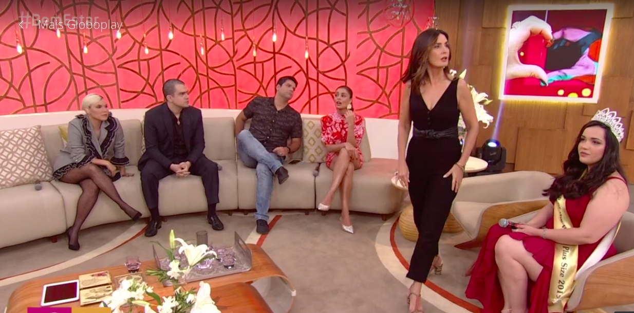 Fátima Bernardes, Encontro com Fátima Bernardes, Globo