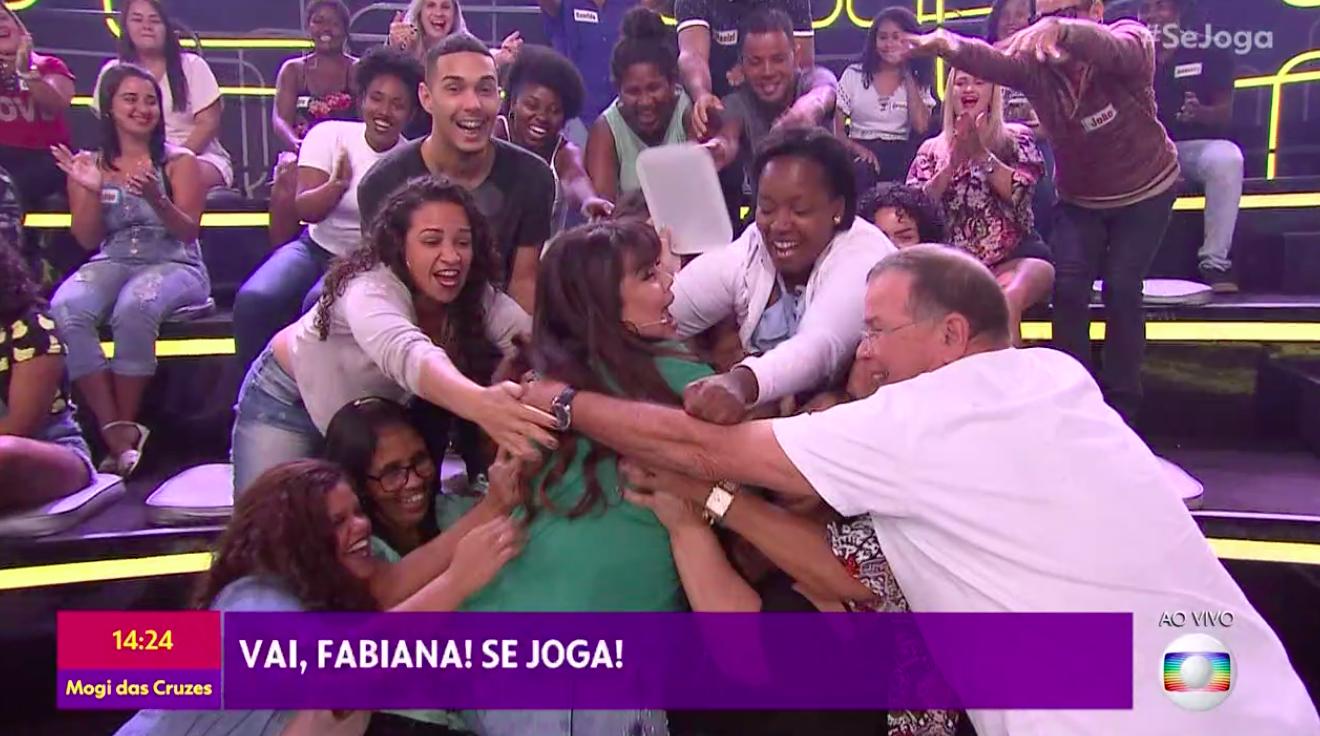 Fabiana Karla, Paulo Vieira, Globo, Se Joga