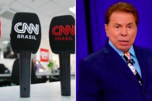 Silvio Santos, SBT, CNN Brasil, Daniel Adjuto, Cassius Zeilmann