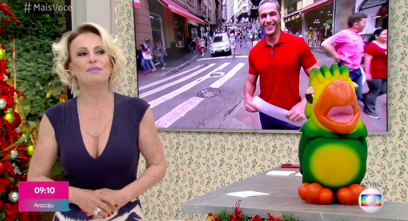 Ana Maria Braga, Louro José, Fabrício Battaglini