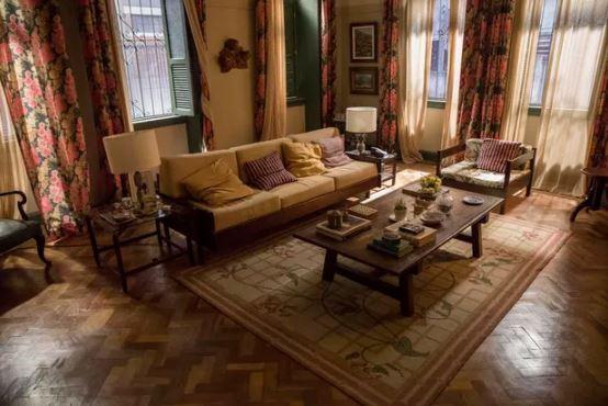 Um pouco mais da casa de Thelma em Amor de Mãe (Foto: João Cotta/Globo)